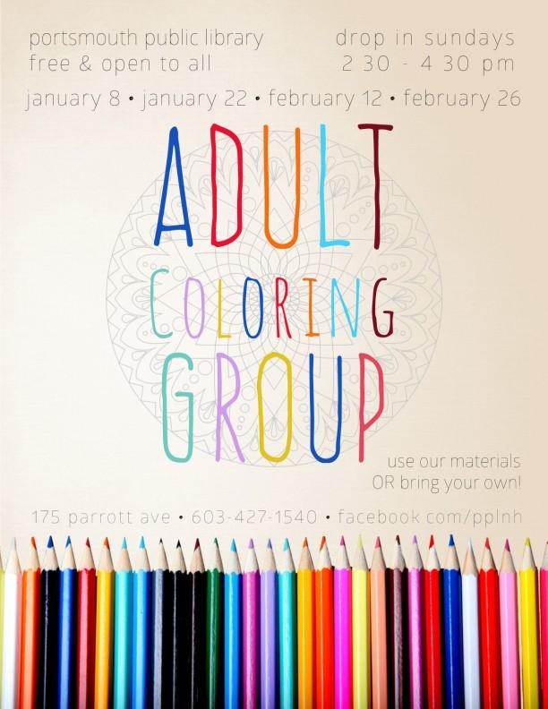 AdultColoringGroupPoster2017