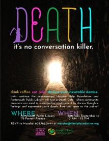 Death Cafe September 2019 Poster