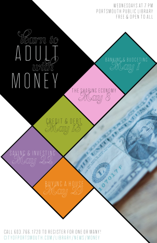 Learn to Adult with Money Poster