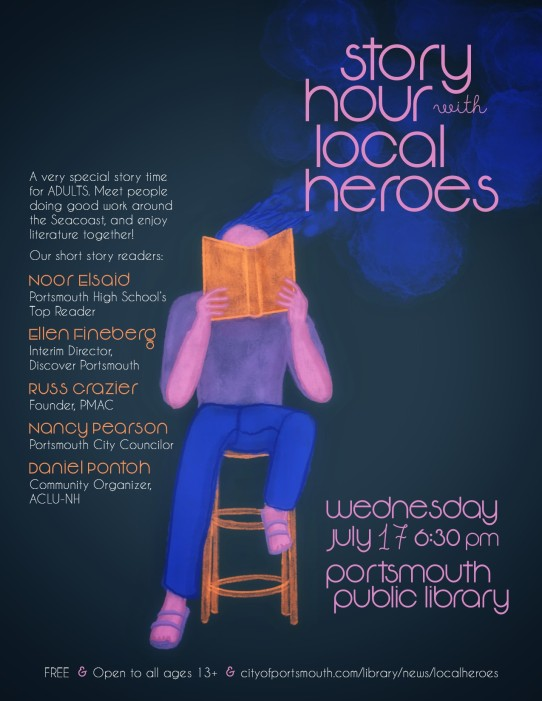 Story Hour Poster